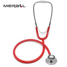 Stethoscope New Professional Health Care Medical Estetoscopio Blood Pressure Heart Rate Single Head Cute Stethoscope Good For Energy And The Spleen