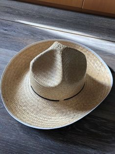 54e953ae8c9 woven straw cowboy hat  fashion  clothing  shoes  accessories   unisexclothingshoesaccs  unisexaccessories (ebay link)