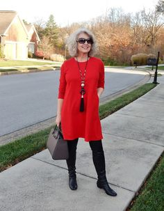 Fifty, not Frumpy: The Perfect Dress!