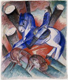 Franz Marc (1880–1916) | St. Julian the Hospitaler