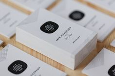 Carte De Visite Design Charte Graphique Graphisme Logo Architecte