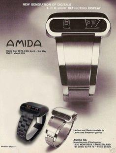 AMIDA DIGITREND LRD DRIVERS JUMP HOUR 1976