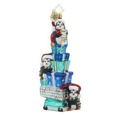 Christopher Radko Cartin Capers Animal Christmas Ornament