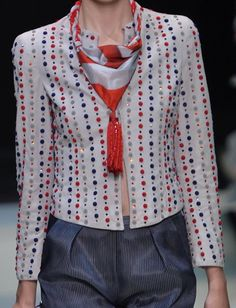 patternprints journal: PRINTS, PATTERNS, TEXTURES, DETAILS FROM MILAN CATWALKS (WOMENSWEAR S/S 2016) / Giorgio Armani