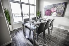 Spacious and well appointed dining area Dining Area, Dining Rooms, Oak Park, New Home Builders, Nooks, Custom Homes, Beautiful Homes, New Homes, Sun