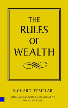 The Rules of Wealth - Richard Templar. Read It! And then go here to get more information on how you can turn $25 into $10,000 in 30 days http://aarondarko.tv/free-of-the-rat-race