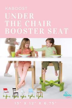 Kaboost Under the Chair Booster Seat is a revolutionary booster seat for dining…