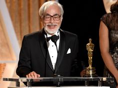 Studio Ghibli's Hayao Miyazaki emerges from retirement for one last film     - CNET  Hayao Miyazaki accepts an honorary award onstage during the Academy Of Motion Picture Arts And Sciences 2014 Governors Awards. Photo by                                            Kevin Winter Getty Images                                          Some people are just really bad at retiring. But we have to admit were not exactly disappointed that global treasure Hayao Miyazaki of Studio Ghibli fame has decided…