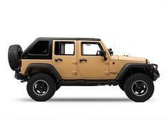 Wild Boar Jeep Wrangler Fastback Targa Top FTFA-JU0NB-46788 (07-17 Wrangler JK 4 Door) - Free Shipping