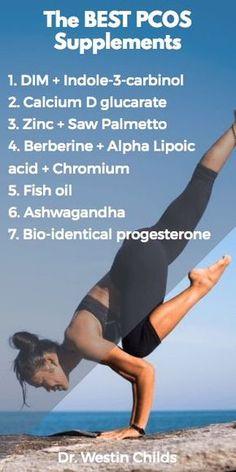 The best PCOS supplements pinterest #Supplements