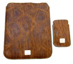 IPad case made of beautiful soft vintage by WeinmannAccessories