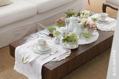 Elegant tea party