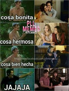 Read 9 from the story Memes de Pretty Little Liars [CONTIENE SPOILERS] by -voidnoah (🏳️‍🌈) with reads. Pretty Little Liars Netflix, Pretty Little Liars Spoilers, Prety Little Liars, Pll Memes, Movie Memes, Korean Drama Romance, Memes Lindos, Ezra Fitz, Step Up Revolution