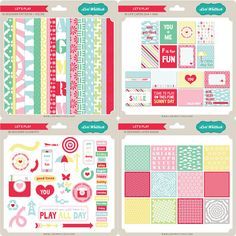 lori whitlock Let's Play digital kit - Google Search