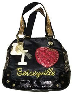 789ae3f28010 Betseyville Black Satchel on Sale