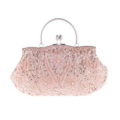 22.35$  Buy now - http://alip3o.shopchina.info/1/go.php?t=32714056226 - Women Evening Clutch Bags Wedding Bridal Handbag Pearl Sequin Beaded Fashion Rhinestone Bags Wallet Wedding Purse Party Banquet 22.35$ #buychinaproducts