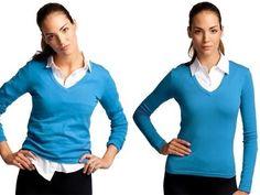 SkinnyShirt - Collared Shirt for Layering