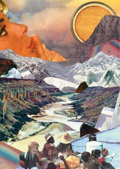 super Ideas for collage art ideas sweets Art Inspo, Kunst Inspo, Inspiration Art, Art Du Collage, Surreal Collage, Surreal Art, Collages, Art And Illustration, Vintage Collage