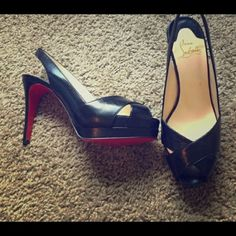 Authentic Christian Louboutin Size 36.5 or 6.5. In great condition. Worn once Christian Louboutin Shoes Heels