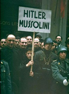Hitler's Visit to Italy in 1938 | Web Odysseum