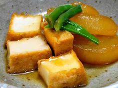 ほっこり♪生姜の効いた大根と厚揚げの煮物の画像