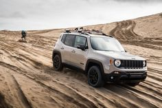 Limited edition new Jeep Renegade Desert Hawk announced