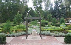 Herb and Knot Garden - Matthaei Botanical Garden – Ann Arbor, Michigan, USA - blog post here: http://skparrott.wordpress.com/2010/09/01/photos-of-matthaei-botanical-garden-ann-arbor-michigan-part-1/