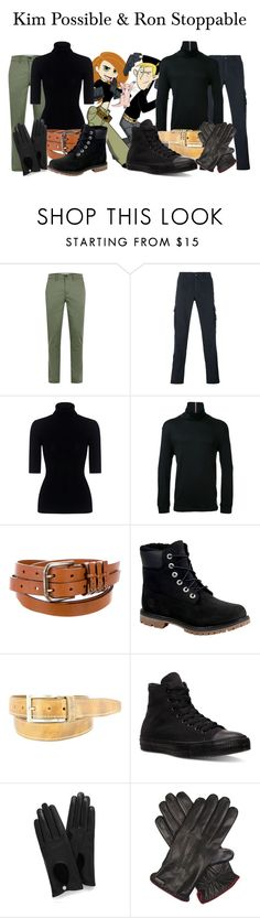 """Kim Possible & Ron Stoppable"" by megan-vanwinkle ❤ liked on Polyvore featuring Disney, STONE ISLAND, Theory, Guild Prime, Dolce&Gabbana, Timberland, Remo Tulliani, Converse, Mulberry and Corneliani"