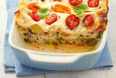 Mozzarella, Quiche, Meals, Breakfast, Ethnic Recipes, Food, Lasagna, Morning Coffee, Meal