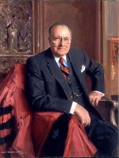 """Everett Raymond Kinstler - John D. Ong - Former Ambassador to Norway (34x44"""")"""