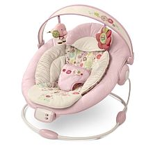 """Bright Starts Vintage Garden Cradling Bouncer - Bright Starts - Babies""""R""""Us. Would have died without this. Toys R Us, Babies R Us, Cute Babies, Babies Stuff, Baby Relax, Best Baby Bouncer, Baby Swings And Bouncers, Baby Stuffed Animals, Holding Baby"""