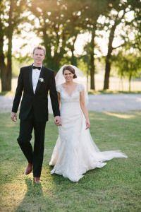 LuLu's Bride, Laurel, is featured in D Weddings wearing Allure Bridals!