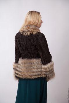 Купить или заказать Куртка из каракуля