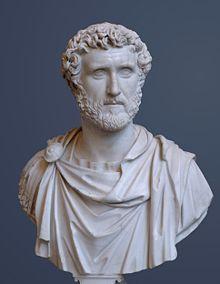Antoninus Pius, Marcus' adoptive father and predecessor as emperor (Glyptothek).