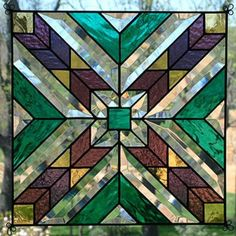 Stained Glass Panels | STAINED & BEVELLED GLASS WINDOW ACCENT PANEL in Regina, Saskatchewan ...