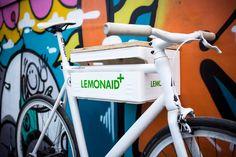 """ghostbastlers: """"#bike #rack #pfandkiste #fahrradhalter #ghostbastlers #lemonaid #sınglespeed #fix #fixie #fixi…"""""""