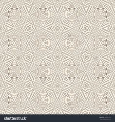 Outline seamless pattern with floral motif. Ornamental abstract background. Ethnic and tribal print. Digital paper, textile print, page fill. Vector art