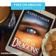 """FREE on Amazon! """"Those voices that tell you to stop, those are wrong. Those voices lie. They steal your victory. Out there be dragons, but…"""
