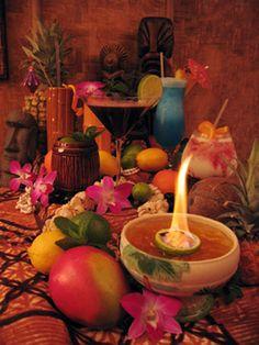 Tiki Drinks by tikihunters, via Flickr