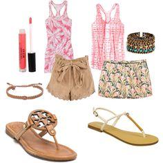 Summer Vacation, created by juliajax