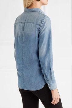 J.Crew - Always Cotton-chambray Shirt - Light denim - US12