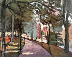 Henri Matisse - The Path in the Bois de Boulogne, 1902