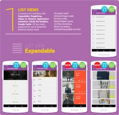 Material Design UI Android Template App - Mobile | CodeCanyon