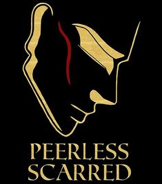 'Peerless Scarred' Poster by Sci Fi Book Series, Red Rising, Dark Ages, Book Fandoms, Goblin, Sell Your Art, Body Art, Fiction, Artists