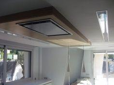 Detalle de campana extractora de cocina en techo   Graden                                                                                                                                                                                 Más