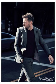 Joel McHale Covers The Hollywood Reporter's Watches Supplement