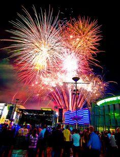 Canberra NYE Fireworks