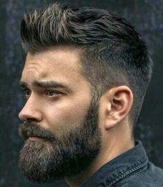 Full Beard Mens Hairstyles With Beard, Haircuts For Men, Cool Hairstyles, Men's Hairstyle, Popular Haircuts, Hairstyles Haircuts, Thick Beard, Beard Fade, Full Beard