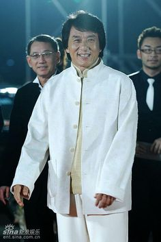 Jackie Chan in Chinese Clothes