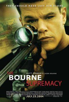 THE BOURNE SUPREMACY (Un film di Paul Greengrass. Con Matt Damon, Franka Potente, Brian Cox, Julia Stiles, Karl Urban - USA 2004)